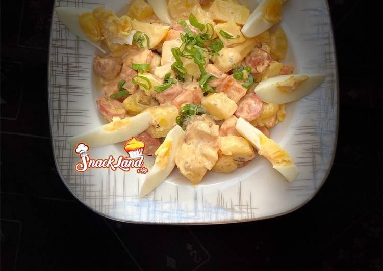 Buffalo potatoes salad