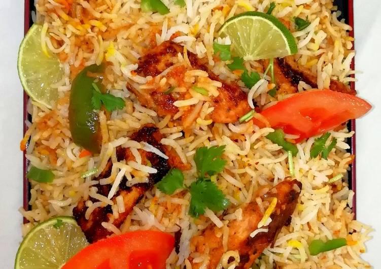 Recipe of Quick Chicken tikka biriyani