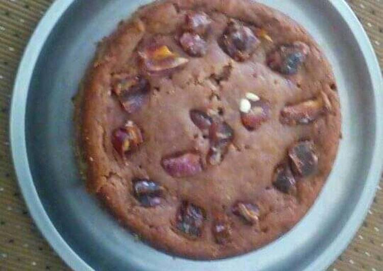 Step-by-Step Guide to Make Most Popular Eggless wheat dates and cashew cake