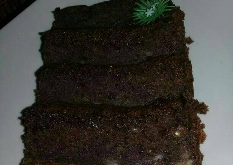Cake Pisang Coklat