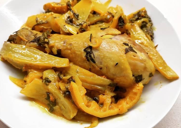 Ricetta Tajine Di Pollo E Finocchi Di La Cucina Di Dany Mimmi Cookpad
