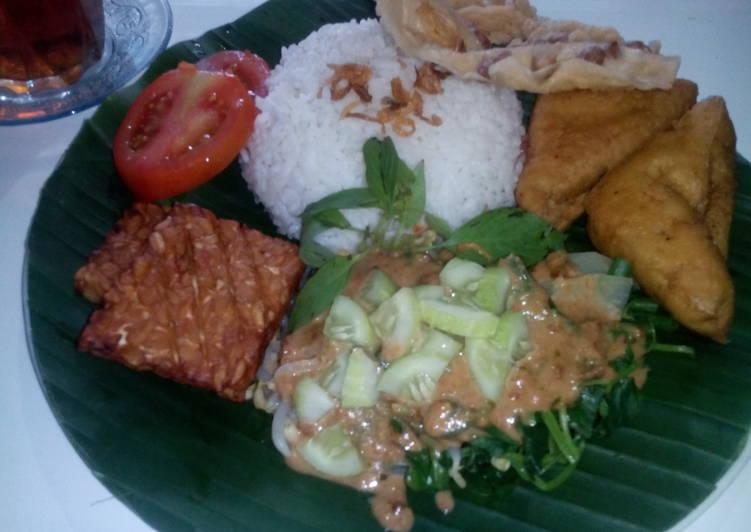 Nasi Pecel khas Malang