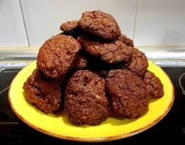 Galletas cookies de chocolate fitness ??