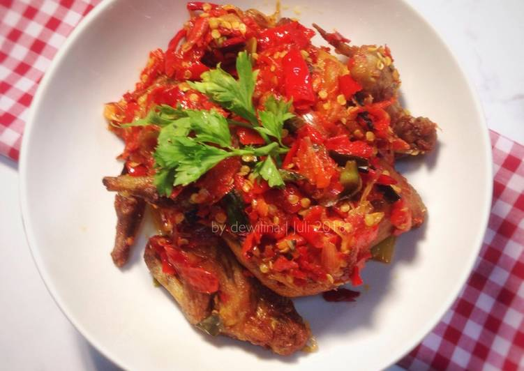 Resep Ayam Goreng Balado Anti Gagal