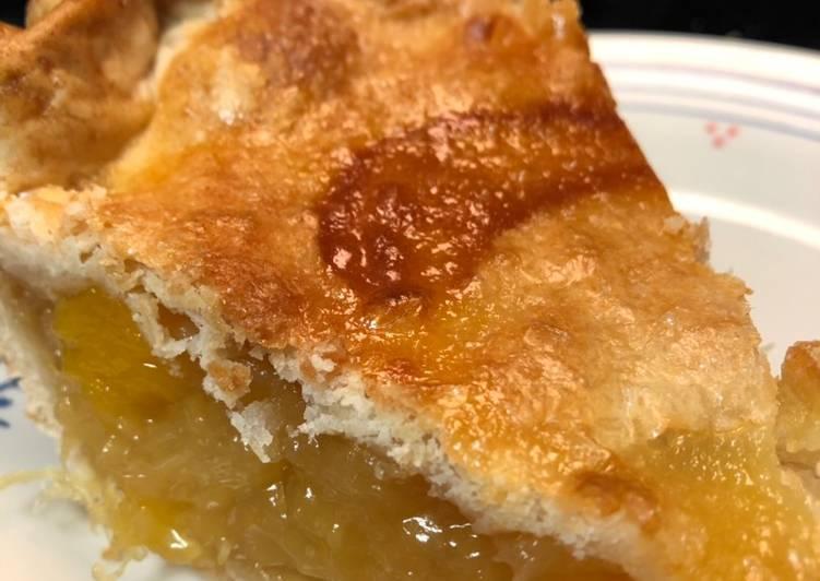 Pineapple Mango Pie