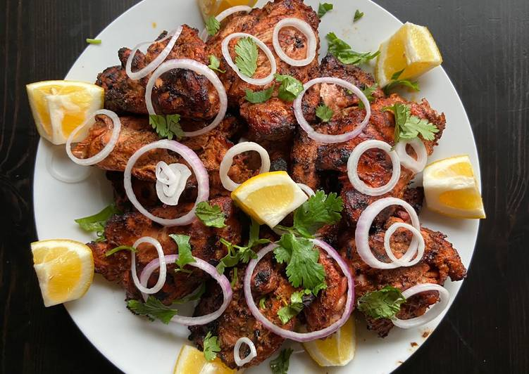 Recipe At Home Dhaba Tandoori Chicken