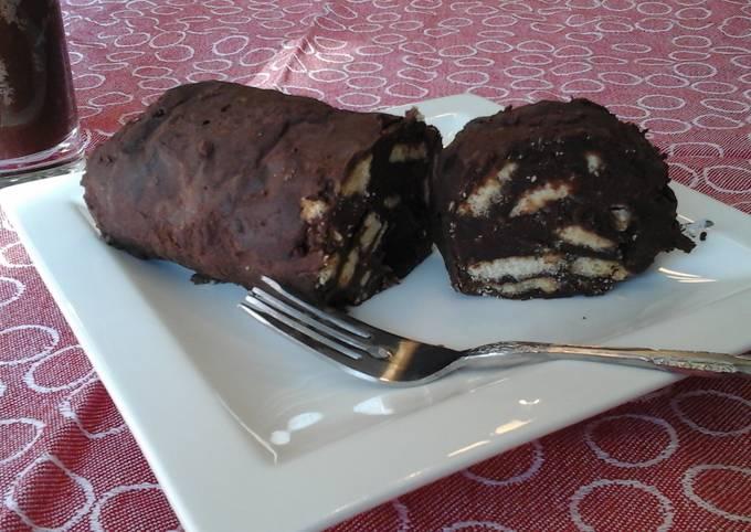 Devilish Chocolate Rum Log