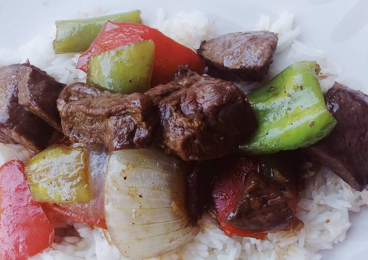 How to Make Delicious Garlic Pepper Steak