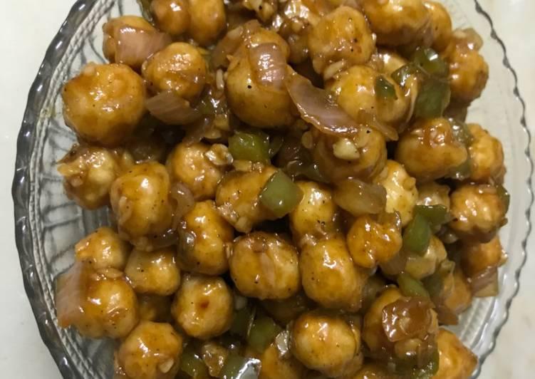 Crunchy Chana chilli