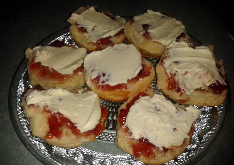 'pull apart' simple scones