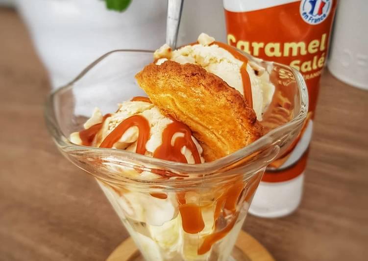 Comment Faire Des Glace maison, vanille caramel beurre salé