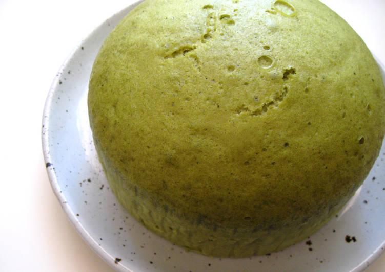Easiest Way to Prepare Award-winning Steamed Matcha Cake