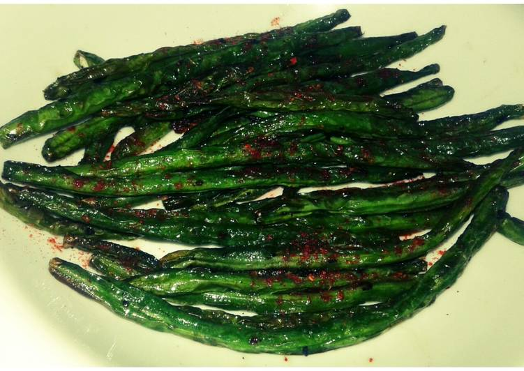 How to Prepare Super Quick Homemade Garlic sauteed green beans