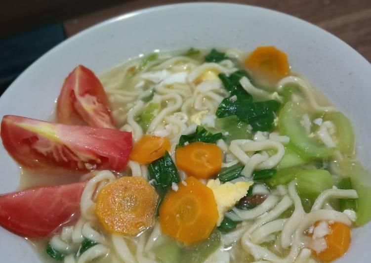 Resep Bakmi Godog Sayuran Sehat Non MSg Terbaik
