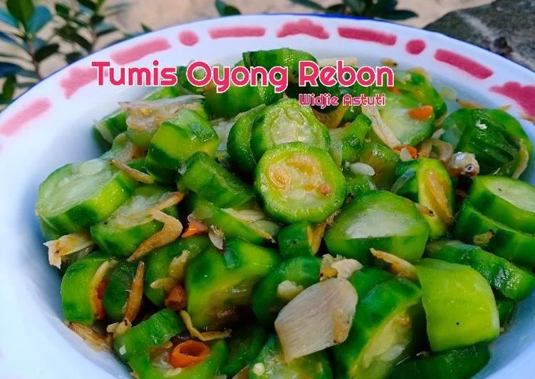 Resep Tumis Oyong Rebon Enak Warung Resep Kuliner