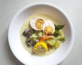 Sayur Lodeh (Menu diet harian)