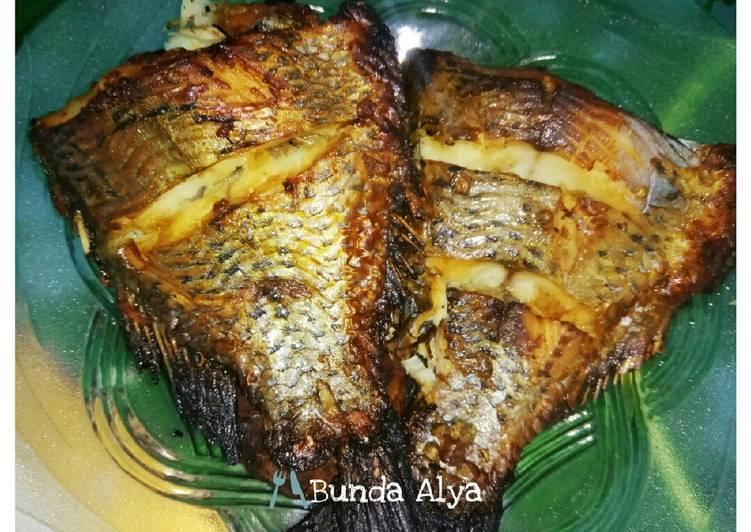 Ikan nila bakar Oven