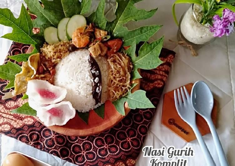 Cara Gampang Membuat Nasi Gurih Komplit khas Medan (ricecooker) Anti Gagal