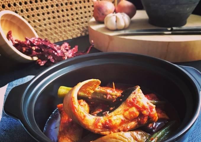 Asam Pedas Ikan Pari #chefzam