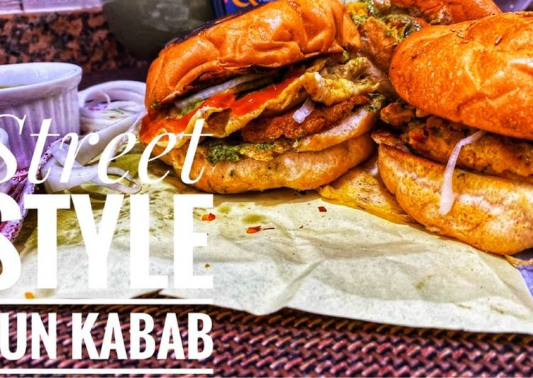 Easiest Way to Prepare Homemade Ande wale bun kabab