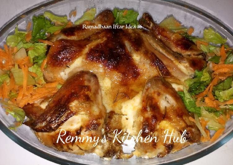Recipe of Award-winning Rosemary Chicken #My4weeksChallenge