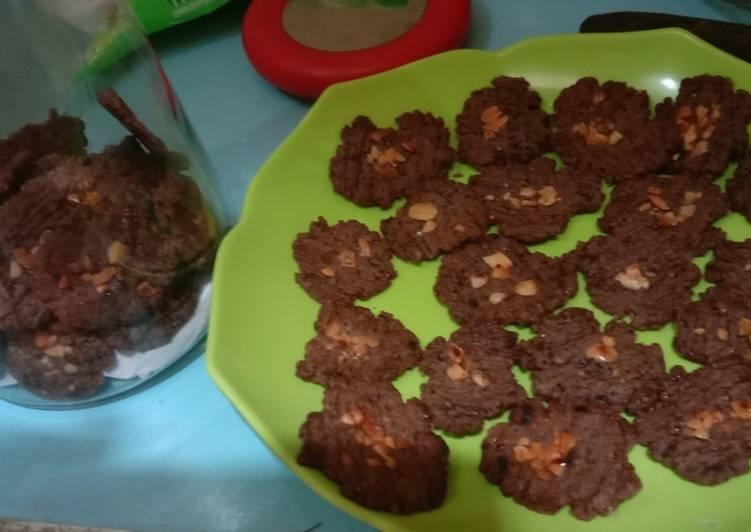 Cookies chocolatos panggang teflon