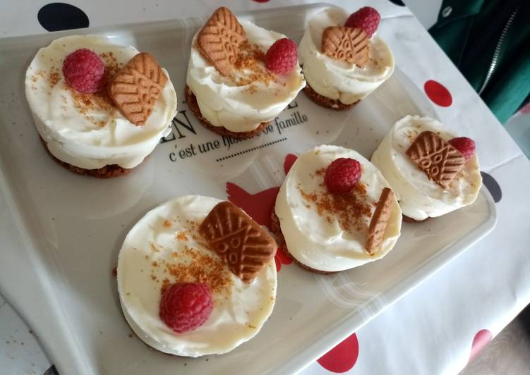 Minis Cheesecake speculos
