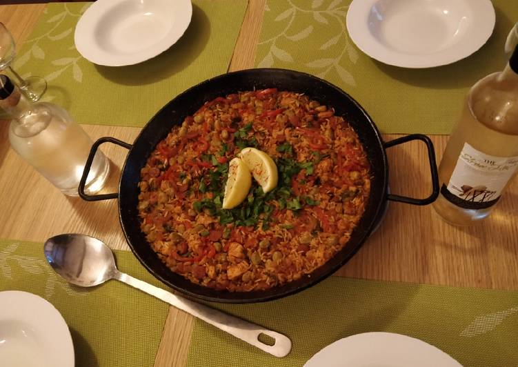 Recipe of Homemade Paella
