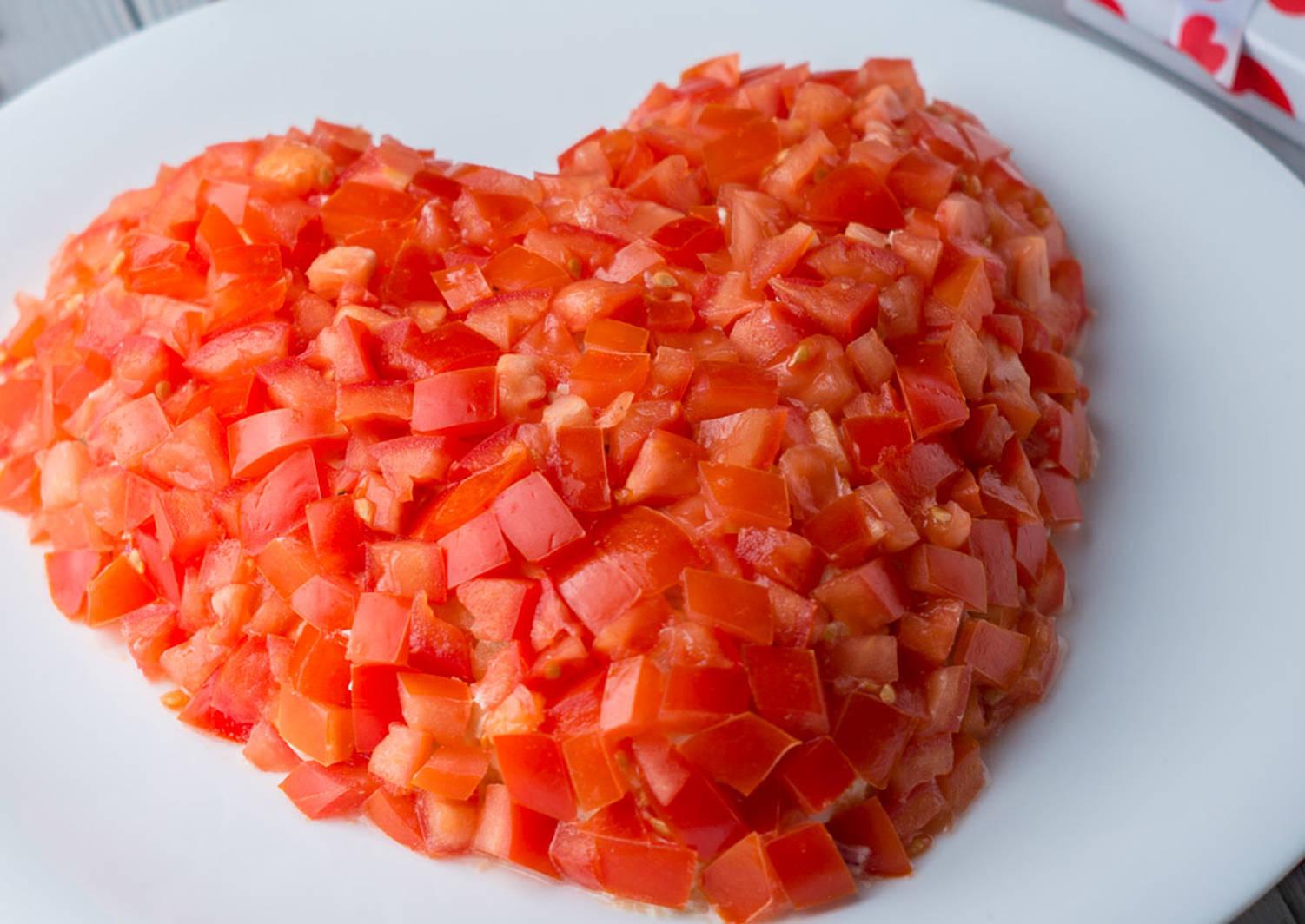 салат в виде сердца рецепт с фото эффективный способ достижения