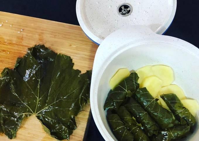 Recipe of Award-winning Warak enab (vegetarian option)