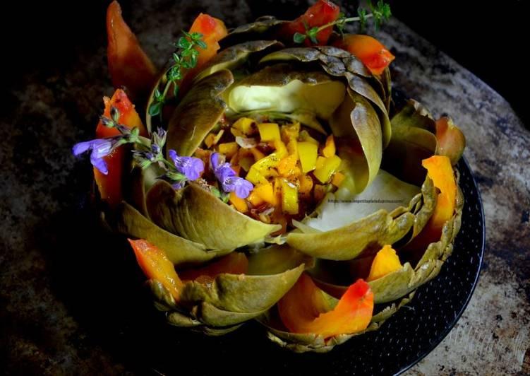 Artichaut fleur
