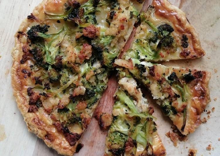 Broccoli Quiche (paratha)