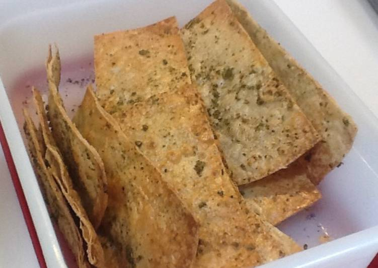 Brown Rice Tortillas Crackers