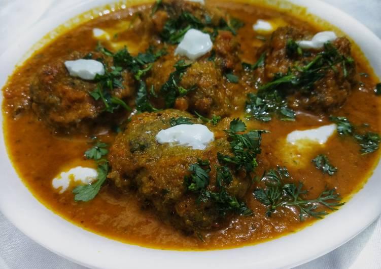 Green Gram Kofta Curry