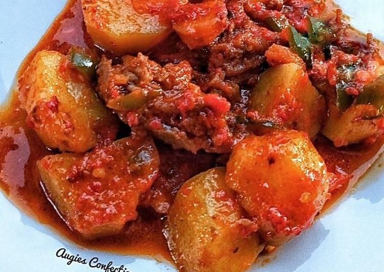 How to Make Appetizing Potato stew