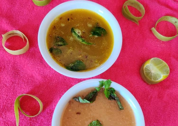 2 types of soup Moong dal and lauki soup, Some Foods That Benefit Your Heart