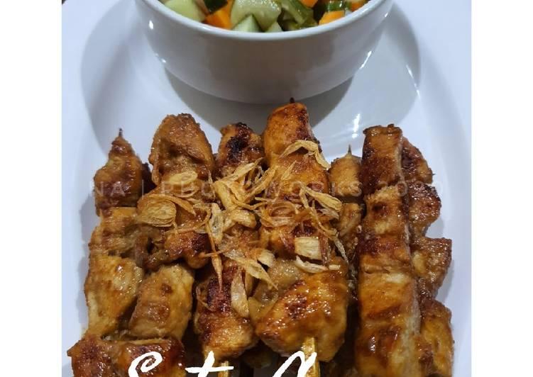 Sate Ayam (Rumahan) - cookandrecipe.com
