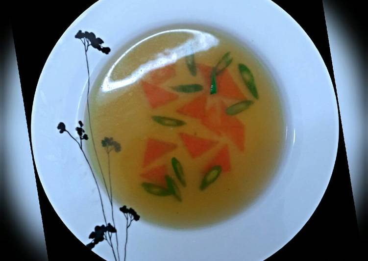 Consomme Paysanne