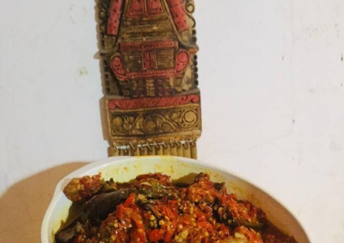 Ayam Terong Balado Padang