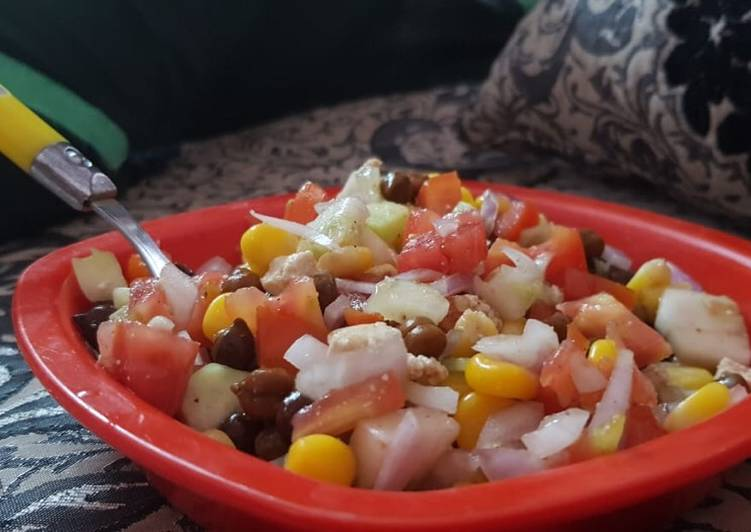 Absolutely Ultimate Dinner Easy Fall Chana chaat