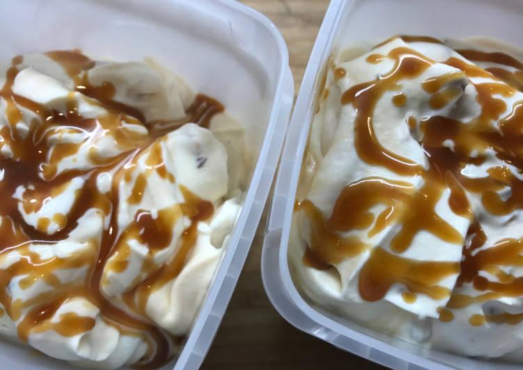 Crème Glacée Caramel Beurre Salé Cacahuètes Daim