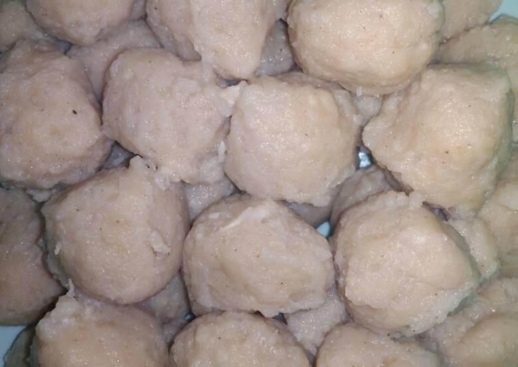 Resep pentol bakso daging ayam