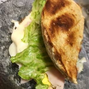 Pan integral para sándwich al microondas