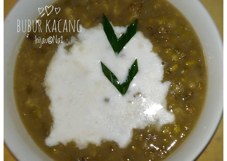 Resep Bubur kacang hijau + Tips yang Lezat Sekali