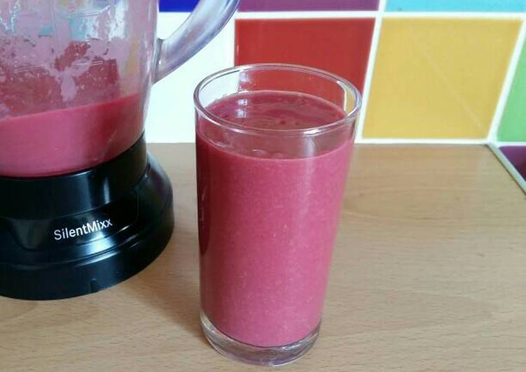 Vickys Beetroot and Berry Smoothie, GF DF EF SF NF
