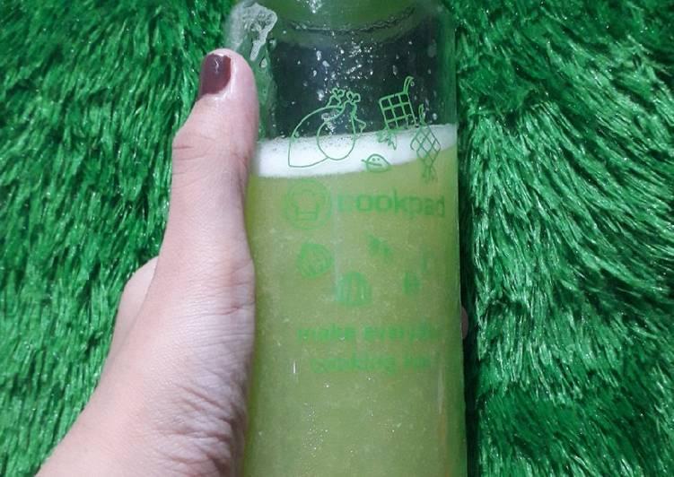 Jus diet(kiwi,nanas)
