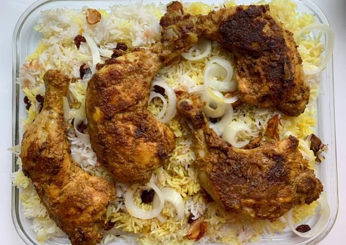 Ayam Bakar Tandoori dengan teflon, matang sampe dalem dan tetep moist