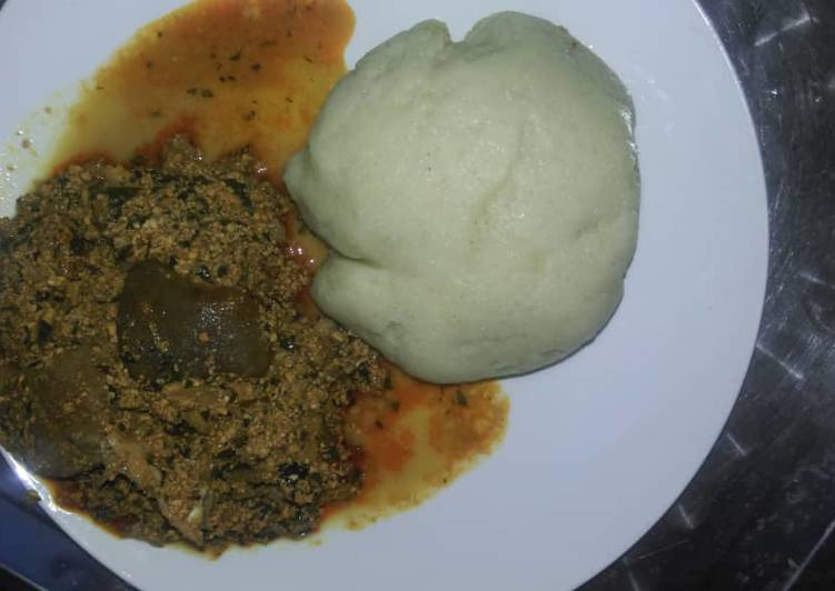 The Best Soft and Chewy Dinner Ideas Refreshing Egusi and bitterleaf soup