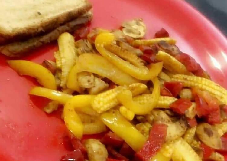Easiest Way to Prepare Any-night-of-the-week Baby corn masala