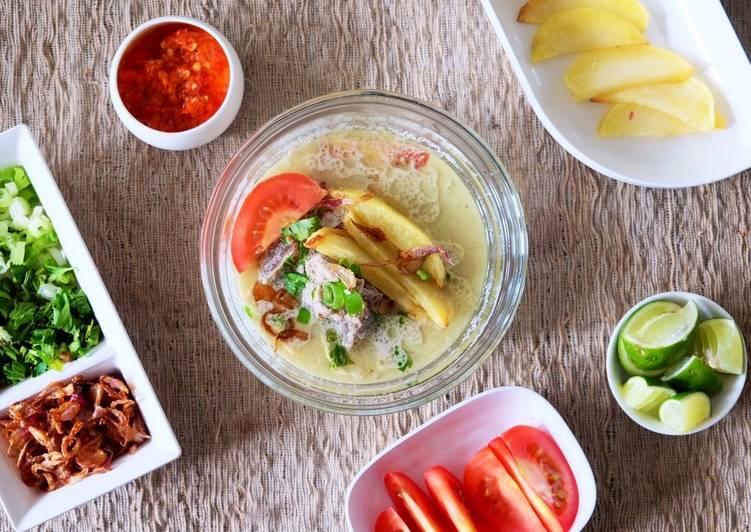 Soto Betawi Simple (Kuah santan & susu)